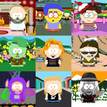South Park People 3 by WildPencil