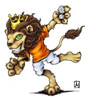 Ludo the Lion by melvindevoor
