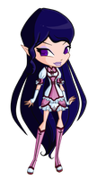 Arela Chibi by MagiaBelievix