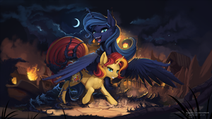 Servant of the night by DiscordTheGE