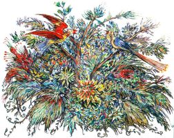 Flora and Fauna by CliveBarker