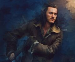 Bard the Bowman by olga51275