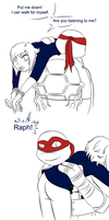 TMNT: Put Me Down by AmayahimeDoodles