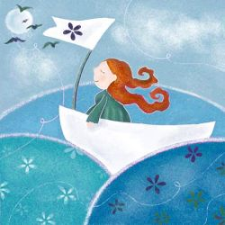sailing on the sea by libelle