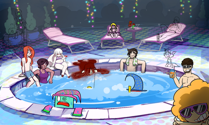 Hot Tub Party WIP by Stormful