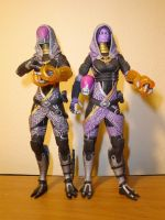 Tali masked and unmasked by pyramidhead22