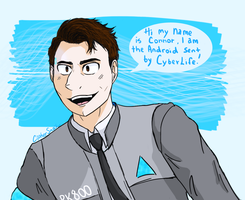 DBH: Connor by CipherSnail