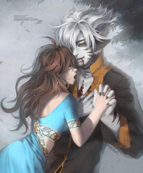 Commission - Dania + Dhaval by shilin