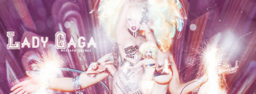 Lady Gaga (FbCover) by Musty1999