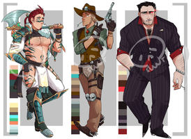 [Adopts] Men I || Closed|| USD || Auction by skele-tea