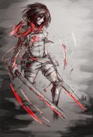 Red Soldier by lllannah