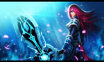 Infiltrator, Irelia Wallpaper by SeoulHeart
