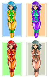 Space Girls by Listenes