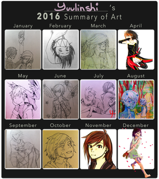 2016 Summary of Art by Yuulinshi