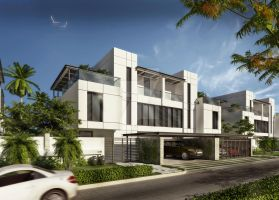 G+2 modern town houses by aboushady81