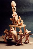 Looney Tunes - Egyptian by sculptor101