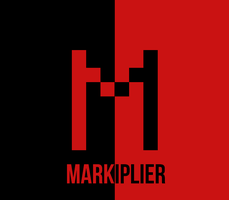 My Red and Black Markiplier Logo by Creepypasta81691