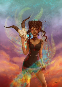 The sea-goat : Capricorn by Lily-Fu