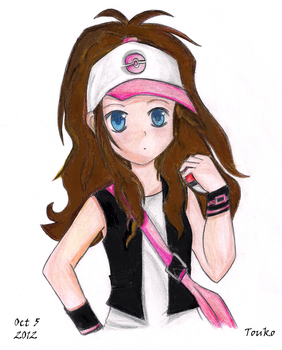 Pokemon Touko by alnouri
