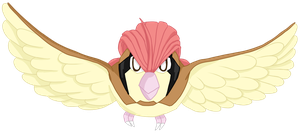 017- Pidgeotto by MacabreHouse