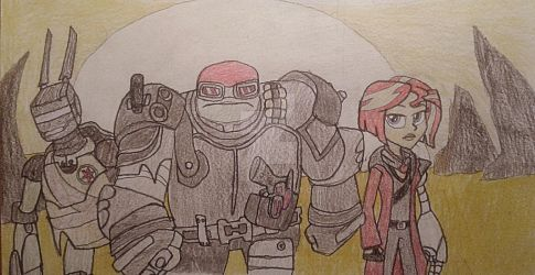 The Wasteland Warriors by jebens1