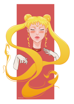 Sailor moon by Blabury