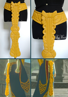 PROGRESS: Royal Zelda's central belt from BOTW by LayzeMichelle
