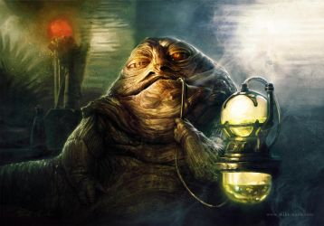 Jabba The Hutt by mike-nash