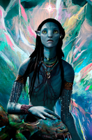 Avatar. Daughter of the Cosmos by Goopy-V