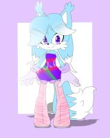 Female arctic fox adoptable! (CLOSED) by TothViki