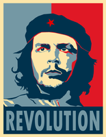 Che Revolution Poster by Party9999999
