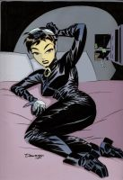 Darwyn Cooke Catwoman Commission by ChazWest