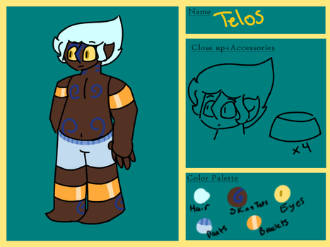 Ref Sheet - Telos by 49-Clementines