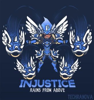 Injustice Rains from Above - Shirt Design by SarahRichford