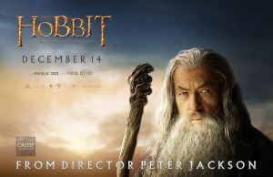 The Hobbit Gandalf fan quad poster by crqsf