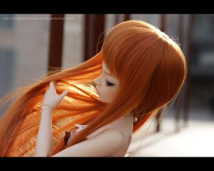 Fire Hair by MySweetQueen-Dolls
