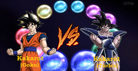 Battle of the Kakarots by boogeyboy1