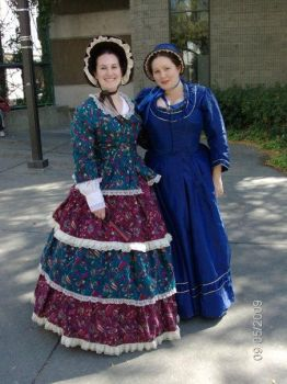 Victorian dress and gown by barelyproper