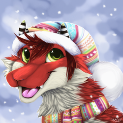 Cold Season [YCH] by SkyKristal