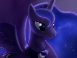 Luna - princess of the night by Montano-Fausto