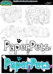 Pets Logo Concepts Process by baby-marshmallow