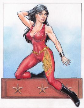 Donna Troy 2 by Reverie-drawingly