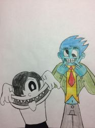 Spooky Funny Faces by bfulmore