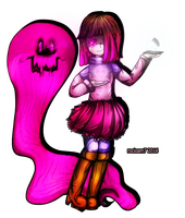 Betty Glitchtale AU by rocioam7