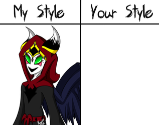 My Style VS Your Style: Zircon (Pain) (READ DESC) by KATEtheDeath1