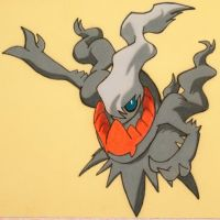Darkrai closeup by SethApophis