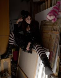 In Mad Hatter's lair by MalwinaD