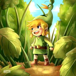 Toon Link (The Leyend of Zelda The Minish Cap) by Nataly2