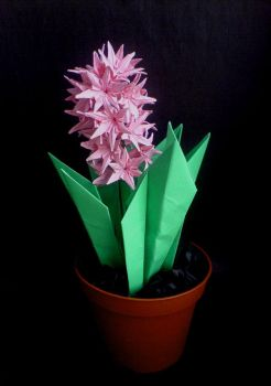 Origami Hyacinth by lonely--soldier