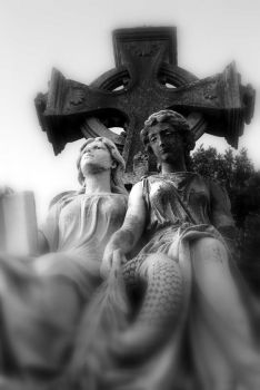 Cemetery Sisters by misfitoy